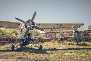 """ The Abandoned Airplane Graveyard in Russia "" Released a photo!"