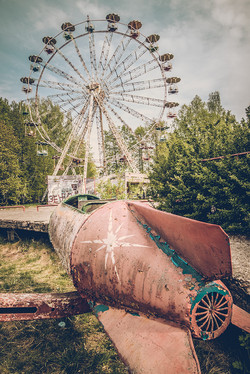 An Abandoned Amusement Park
