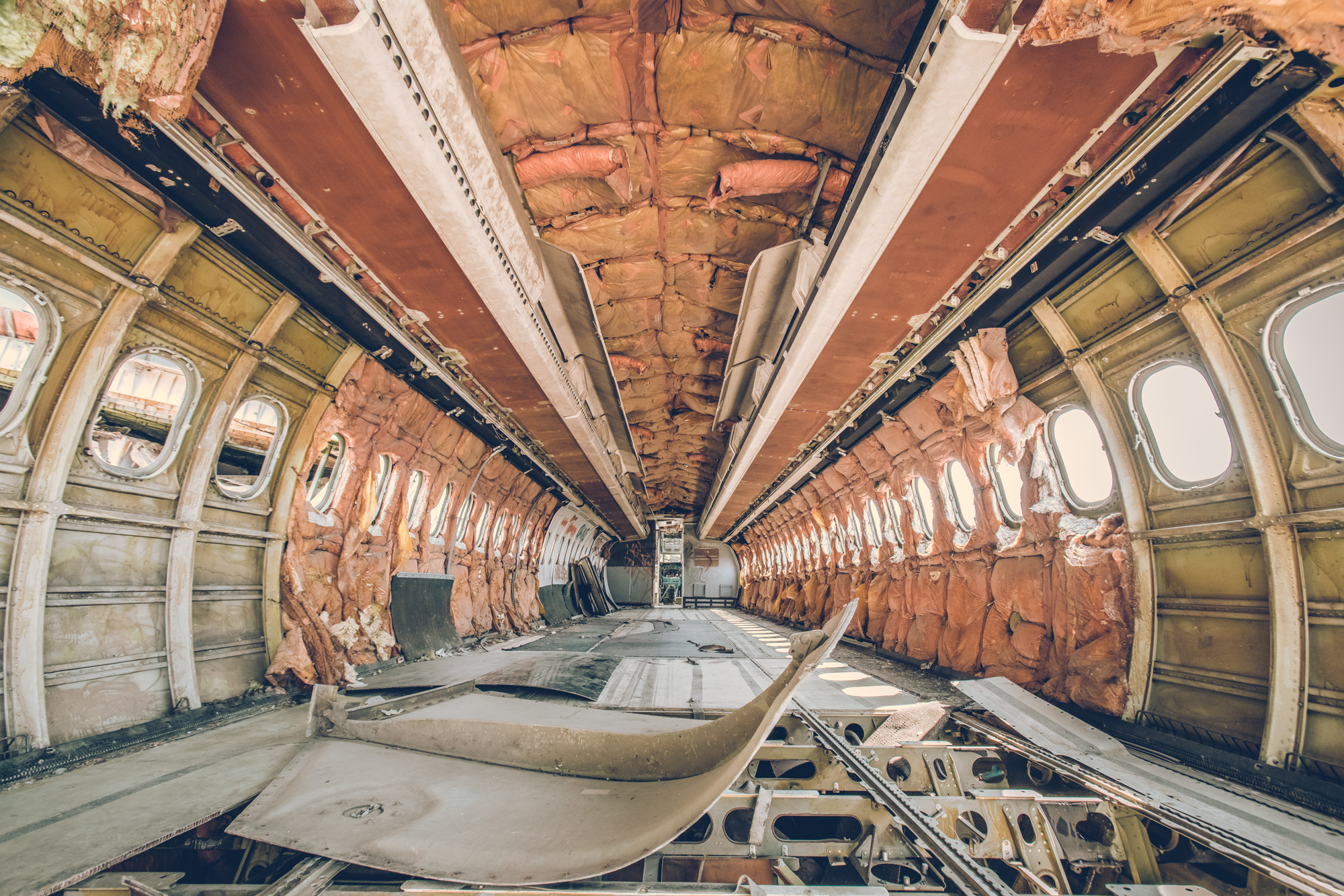 The Airplane Graveyard in Bangkok