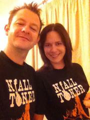 Niall Toner tee shirts make you happy....