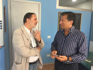 Napoli: Sgambati in visita alla Netcom Group, «modo virtuoso di fare impresa»