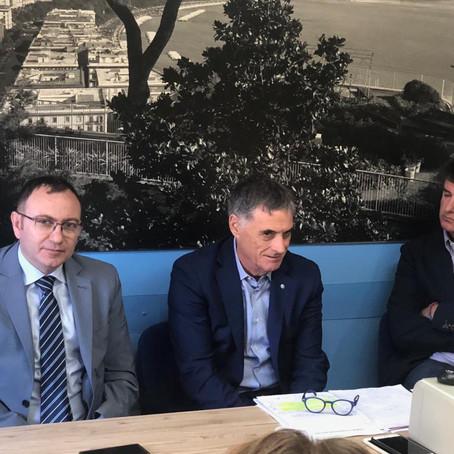 Leonardo: la Uilm incalza l'azienda sulle prospettive per i siti industriali campani. Palombella e A