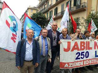 La Uilm Campania al sostegno dei lavoratori Jabil di Marcianise. Oggi il corteo a Napoli
