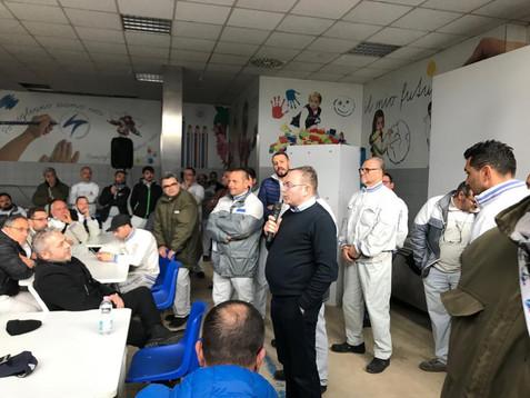 Fca Pomigliano: entusiasmoe attesa tra i lavoratori dopo l'annuncio della nuova missione
