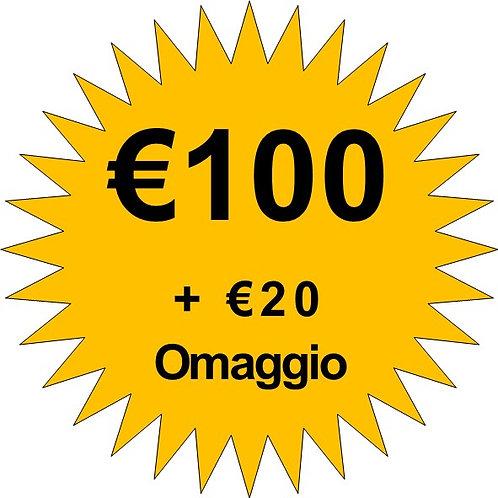 Ricarica €100
