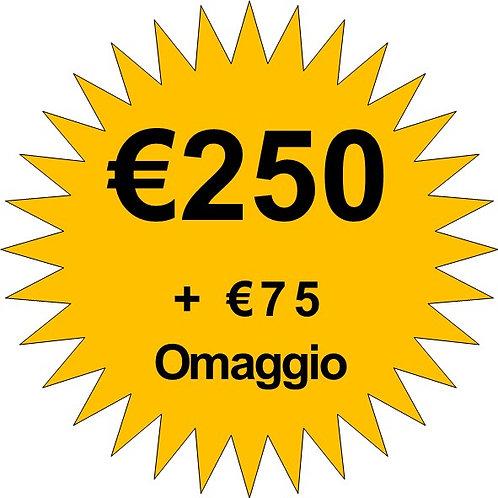 Ricarica €250