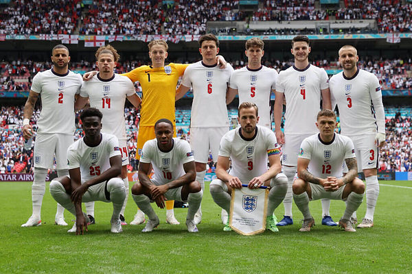 England's euro 2021 squad