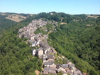 The beautiful village of Narjac.