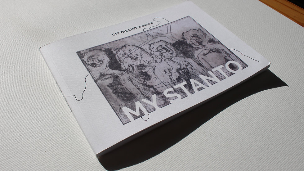 CHRIS ADAMS - My Stanto, Book édition limité 85pages
