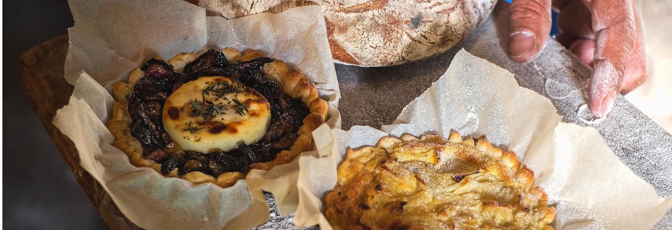 Beautiful bread at Le Touron