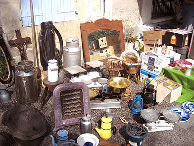 A Vide Grenier at Fontanes, South West France.