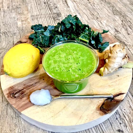 Green Ginger Lemon Elixir!