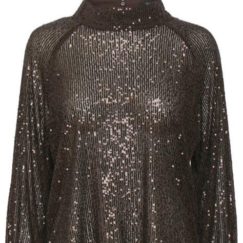 Soaked in Luxury Nicole Blouse LS