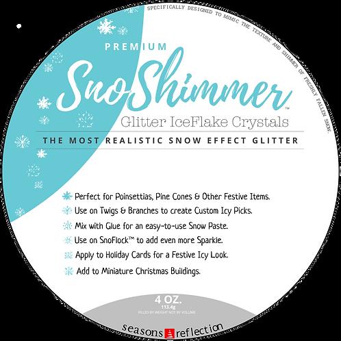 SnoShimmer - Premium Glitter IceFlake Crystals - 4.0 Ounces