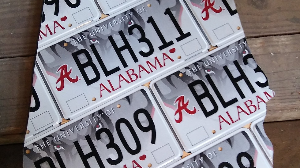 University of Alabama State Map