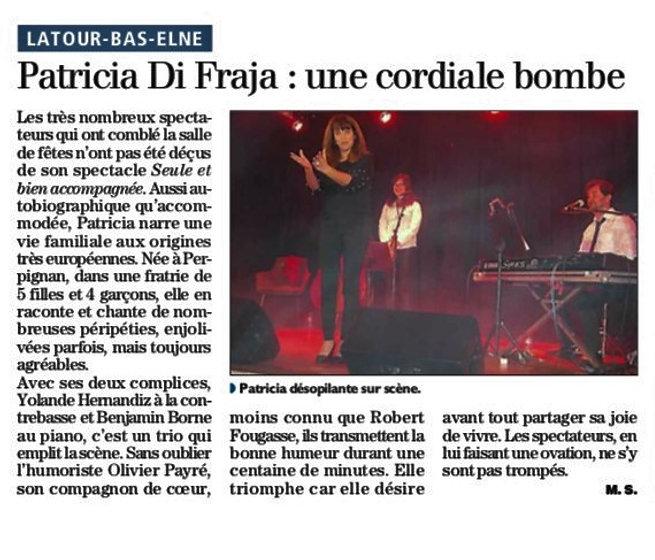 Retour de presse Latour Bas Elne 3 novem