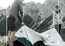 Une tente qui se monte toute seule ?
