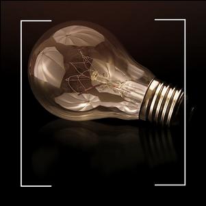 L'ampoule : du papier carbonisé à l'éclairage personnalisé