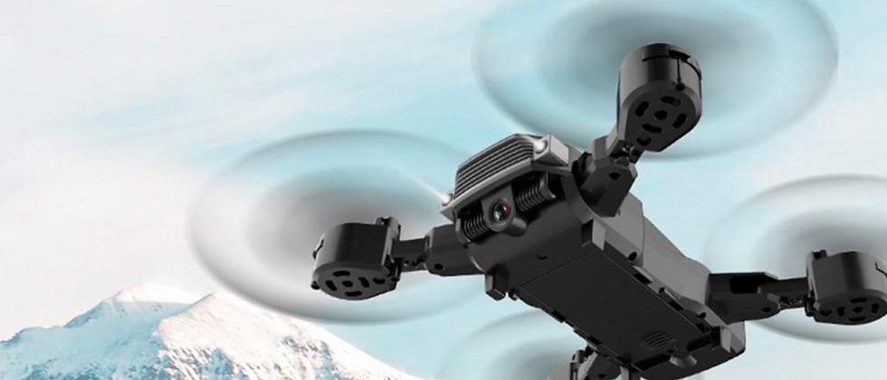 Mini drône pliable compact