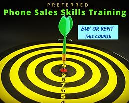 Preferred Phone Sales Skills Training Co