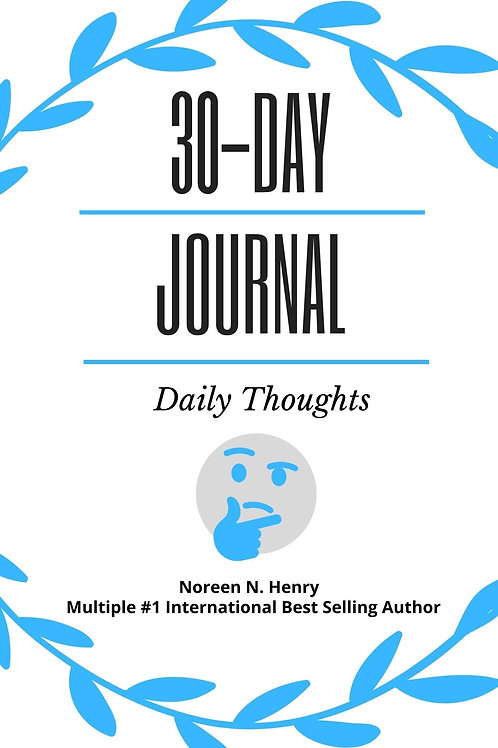 30-Day Journal: Daily Thoughts