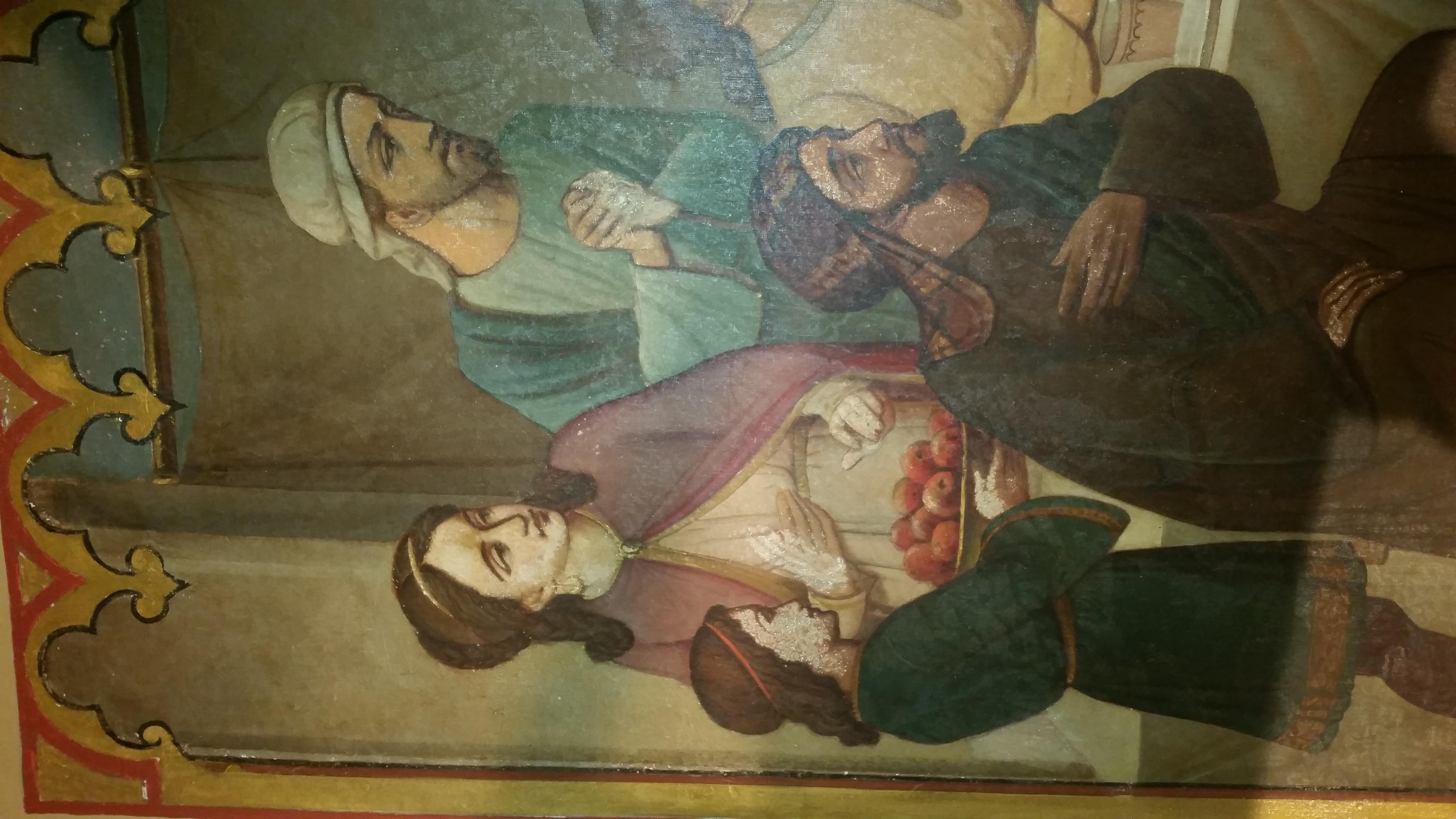 restauratie kerkbeschildering