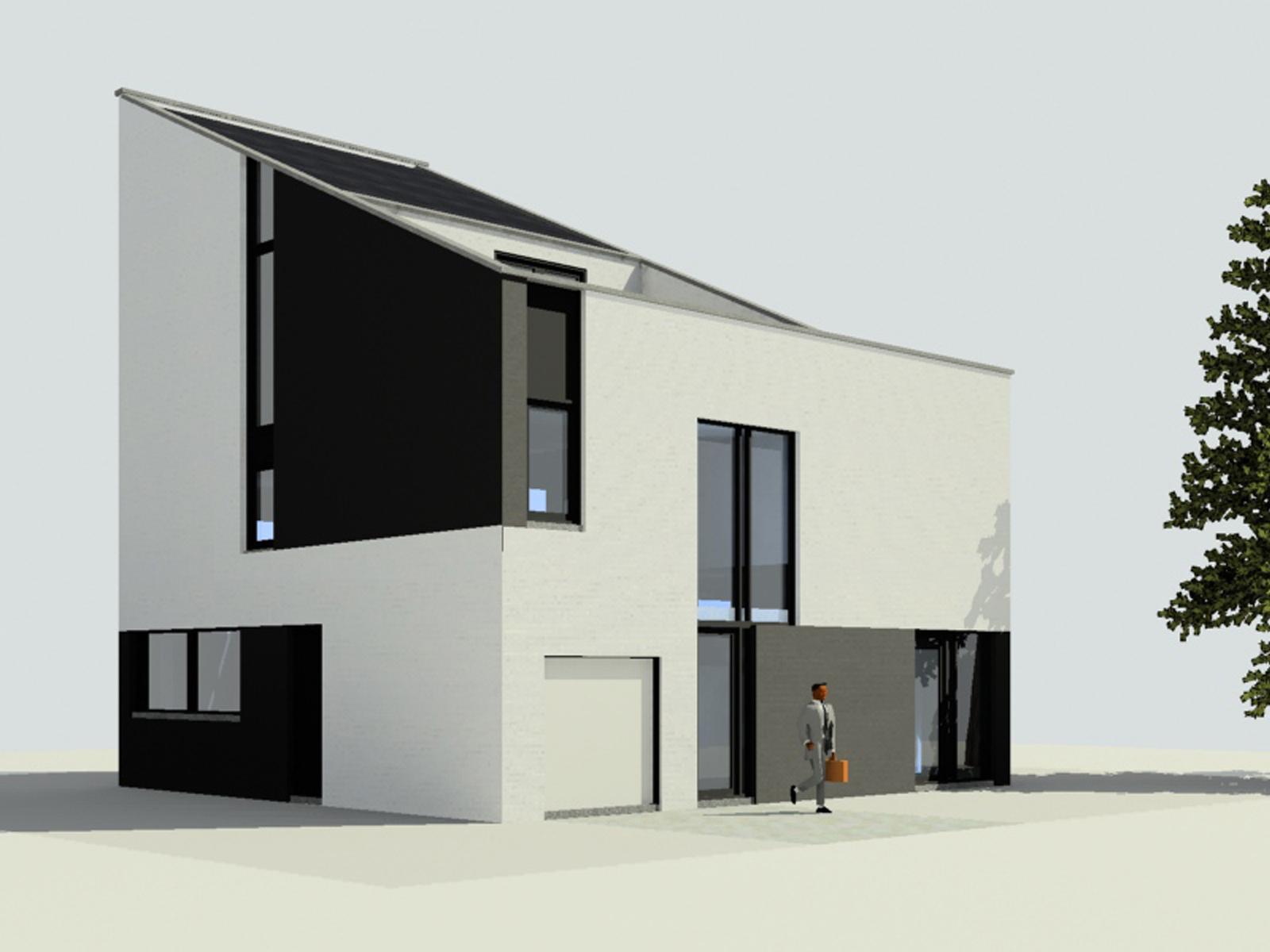 Nieuwbouw villa te Den Haag