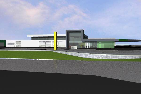 Verbouwing Opel/BP te Bunschoten