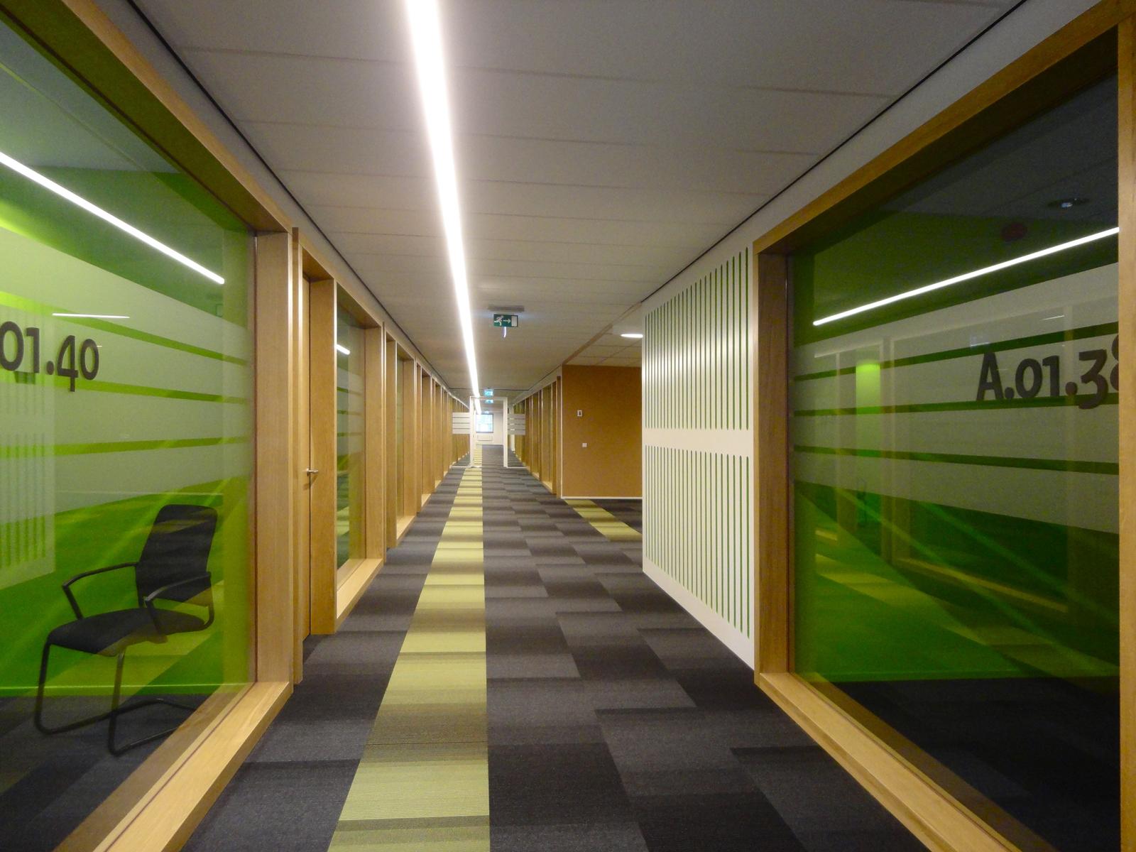 Interieur IND te Den Bosch