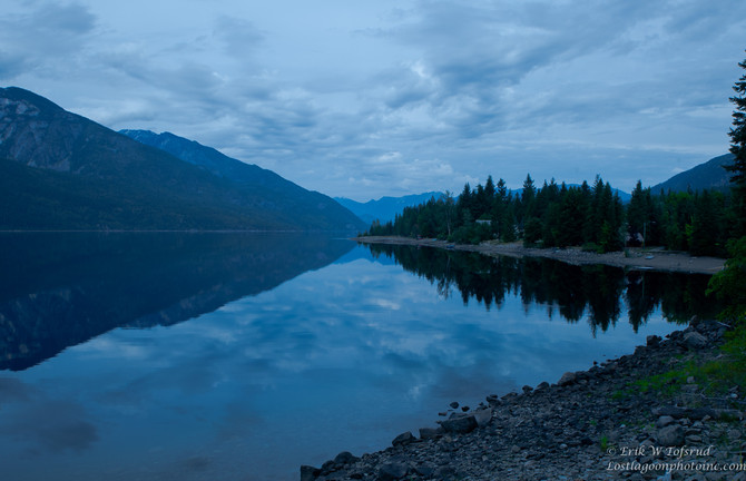 Slocan Lake, Silverton, BC, Canada
