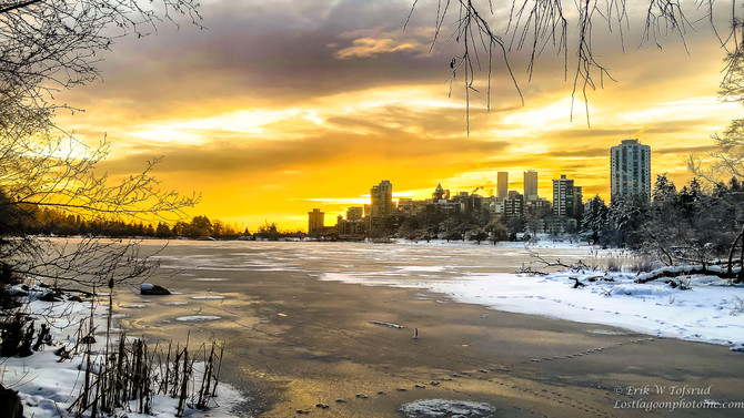 Lost Lagoon, West End, Vancouver, BC, Canada