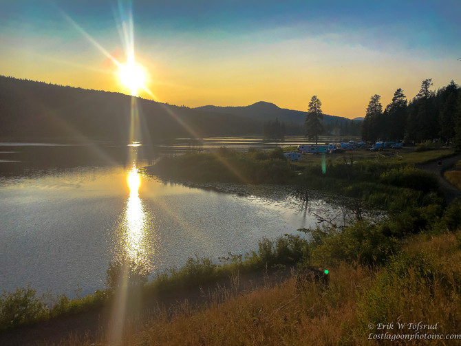 Davis Lake, South Shovelhorse Forest Service Road. BC 3