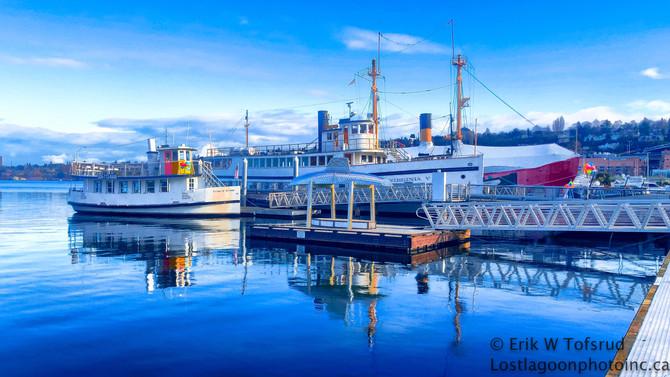 Around Lake Union, Seattle, WA, USA