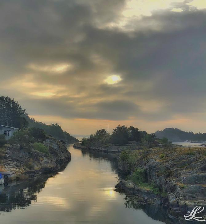 Hiking trip, Bamle, Norway