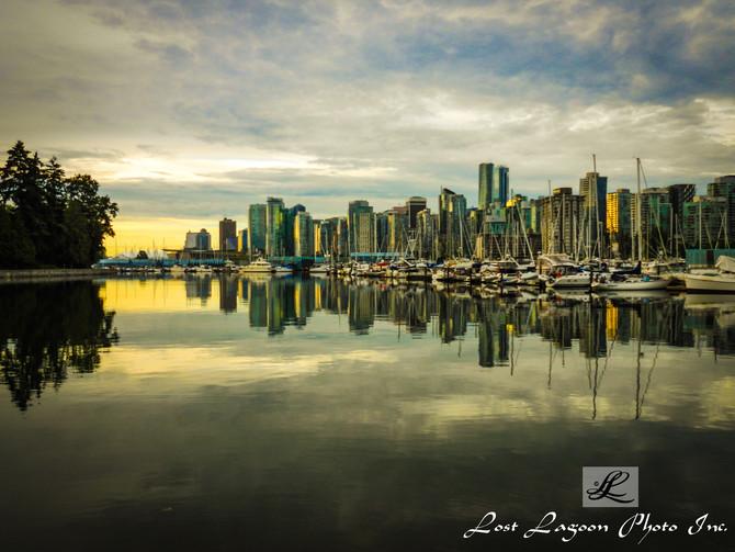 My morning walks views, Coal Harbour, Seawall, Vancouver, BC, Canada
