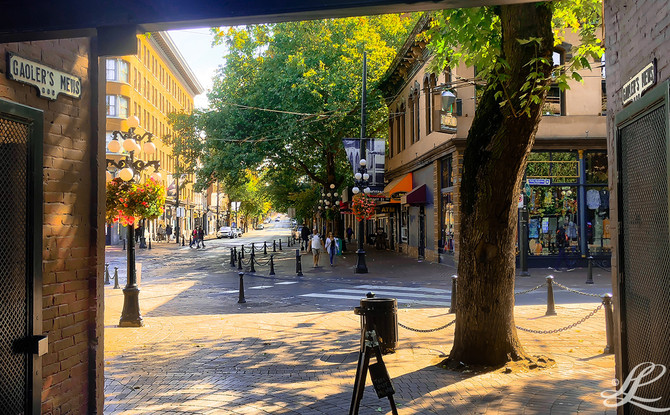 Gastown & Chinatown, Vancouver, BC, Canada,