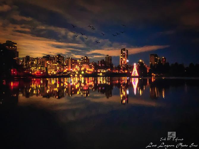 My morning walk views, Lost Lagoon, early morning, Vancouver, BC, Canada