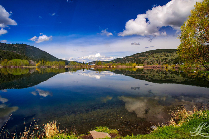 Monte Lake, Hwy 97, BC