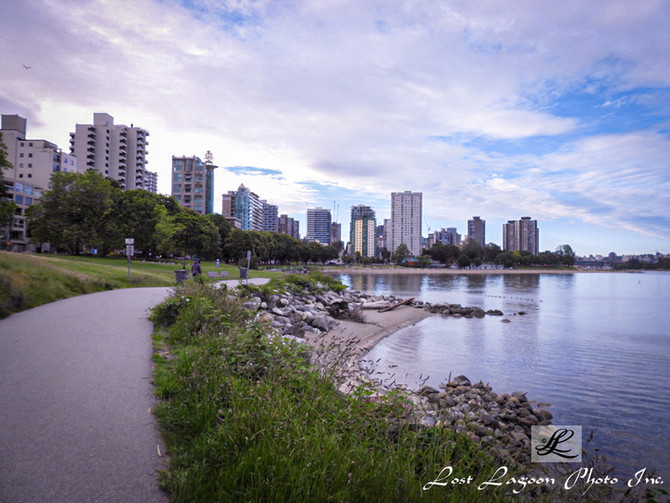 My morning walk views #23, 1st Beach, Seawall, Vancouver, BC, Canada