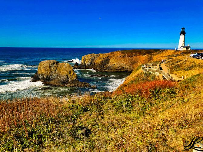 Yaquina Head Lighthouse, Newport, OR, USA