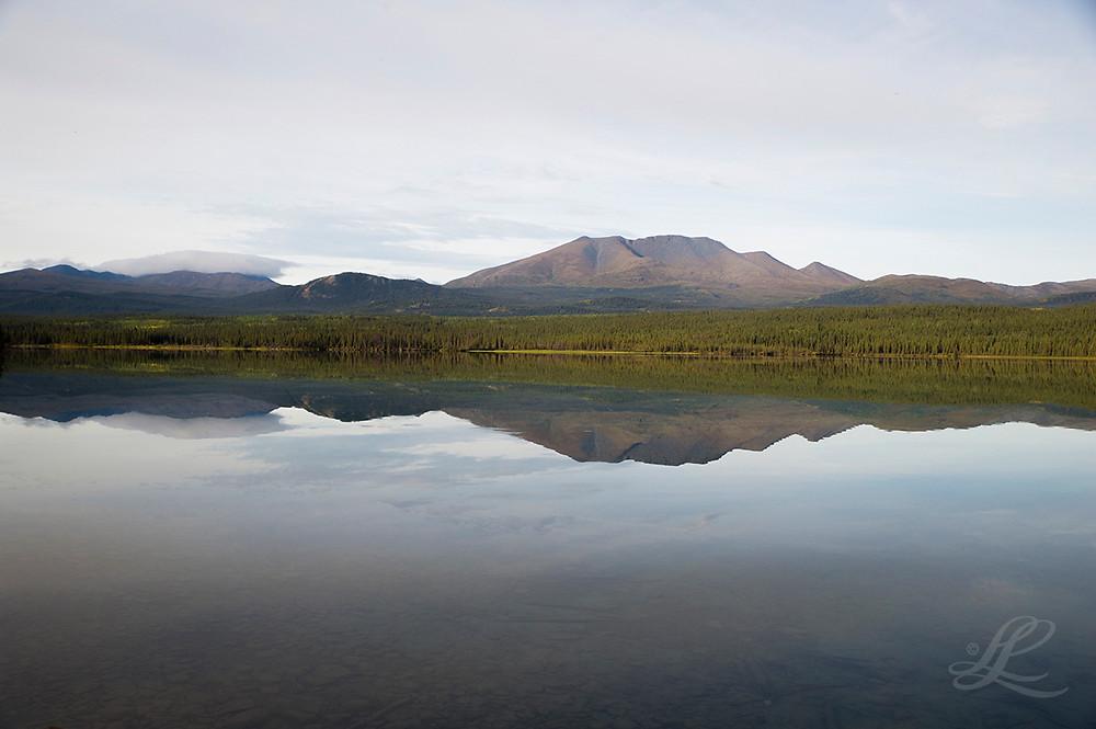 Fox Lake Landscape refelctions off Klondike Highway
