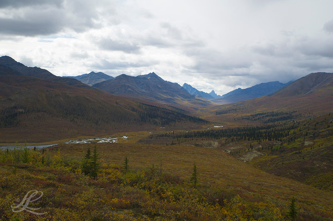 Tombstone Mountains on Dempster Highway