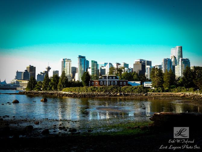 My morning walk views, Deadman Island, Vancouver, BC, Canada # 27