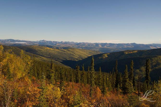 Top of the World Road -  Dawson City, Yukon, Canada to Chicken, Alaska*