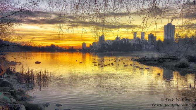 Lost Lagoon & Westend, Vancouver, BC, Canada