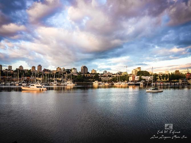 My morning walk views, False Creek, Seawall, Vancouver, BC, Canada #32