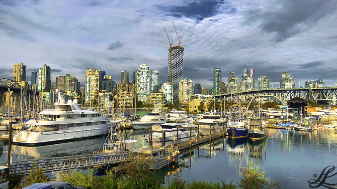 False Creek, Vancouver, BC, Canada,