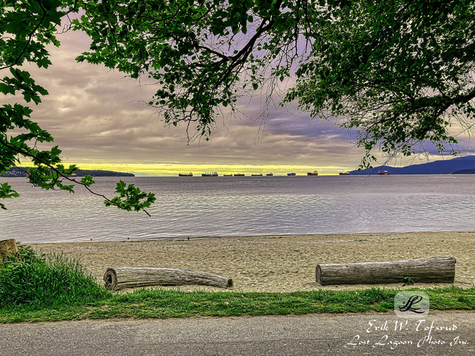 Second Beach, Vancouver, BC, Canada