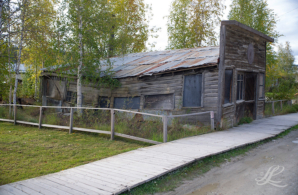 Former furniture maker's workshop and store, Old Dawson City