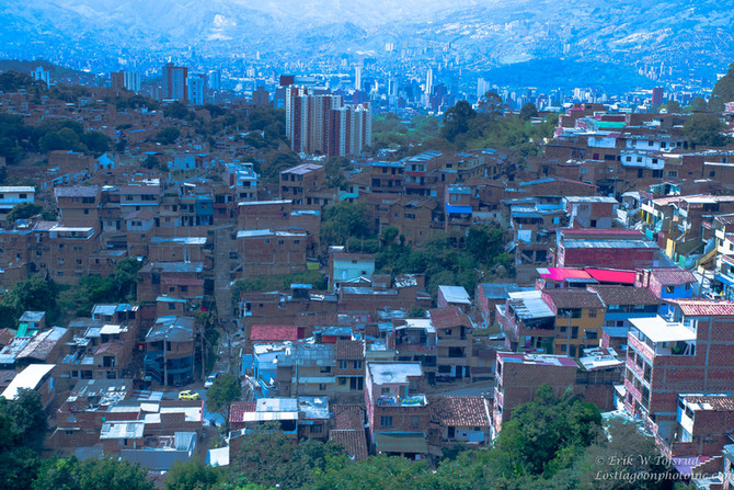 Views from Motorcable, Medellin, Colombia